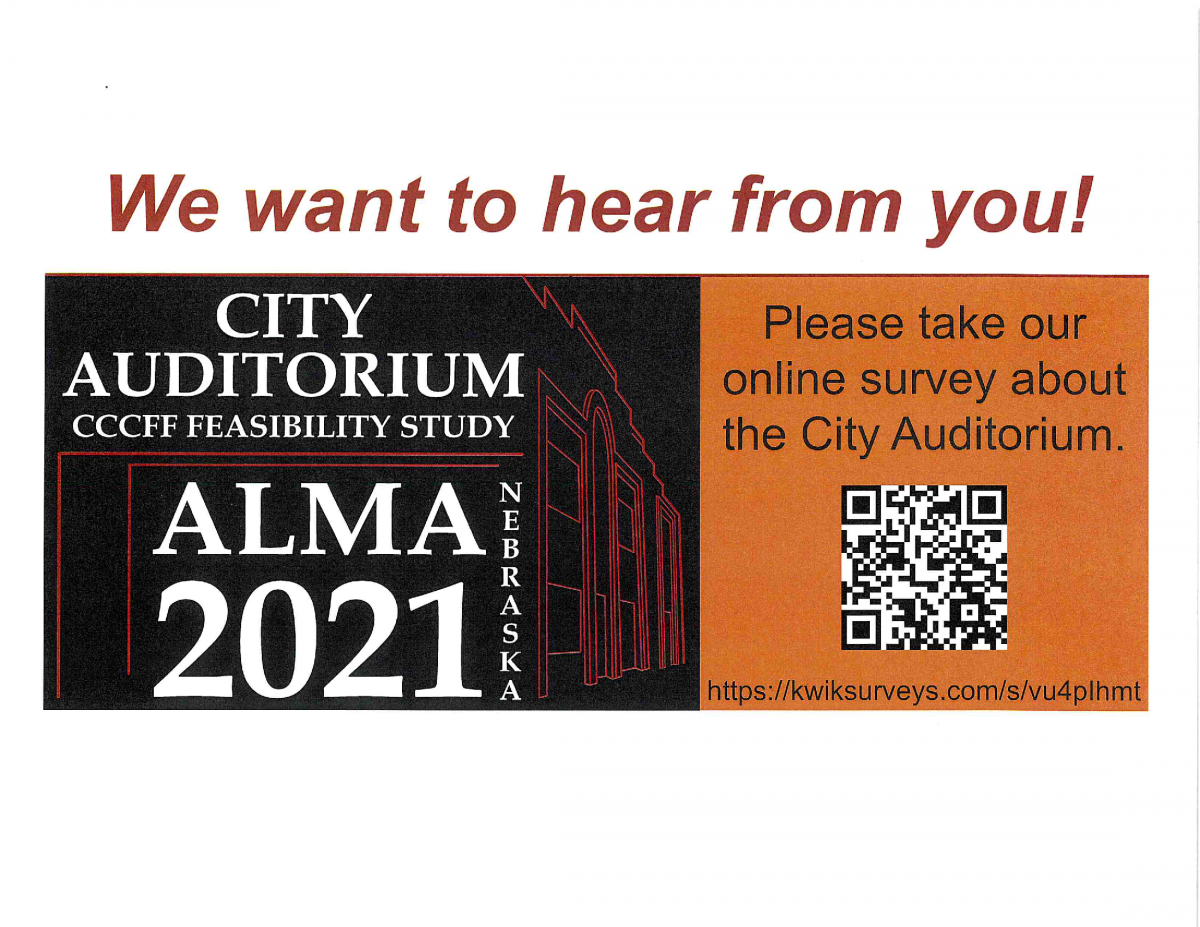 Auditorium Survey