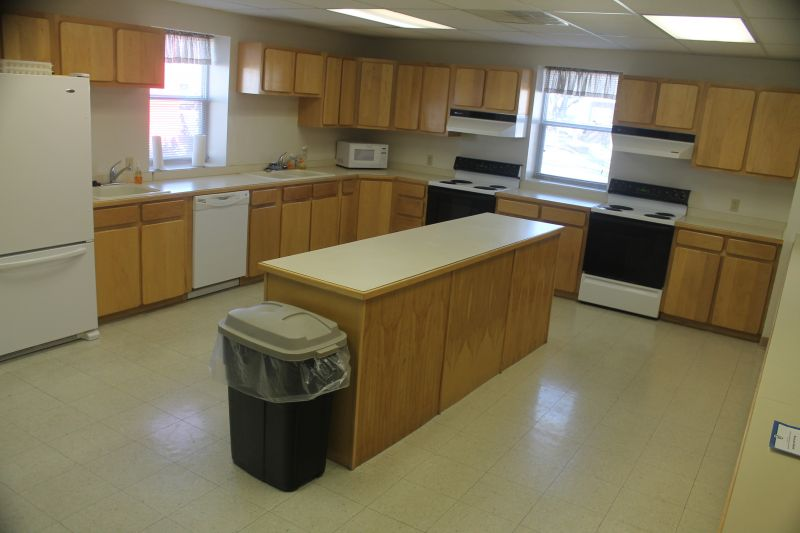 Johnson Center kitchen