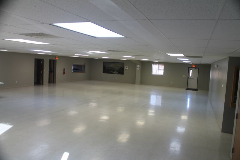 Johnson Center main room looking north